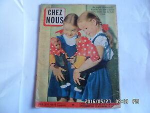 CHEZ NOUS N°44 02/11/1958 FILM AVEC VIRGINIA MC KENNA P.SCOFIELD M.RONET   G3