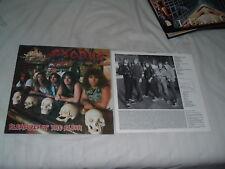 EXODUS Pleasures Of The Flesh LP ORIGINAL UK !!! IMPORT !!! NMint/MINT-