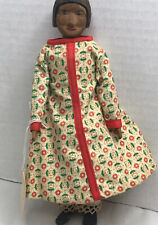 """Vintage Hitty Hand Carved  Wooden Doll 7 1/2"""""""