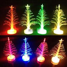 LED Flash Mini Christmas Tree Light Glowing Xmas Party Home Festival Decoration