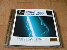 Abbado - Mozart : Symphonies Nos. 28, 29 & 35 - Gold CD Sony 1992