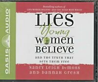 NEW Lies Young Women Believe Truth That Sets Them Free Audio CD Nancy L. Demoss