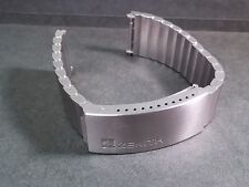 Zenith band watch part stainless steel 20mm end, no buckle, NEW for watch repair