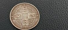 More details for 1881 queen victoria rarer die error godless florinsilver.925 coin v/f++ to ae/f.