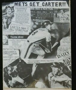 Gary Carter New York Mets  Baseball Poster 18x24 1986