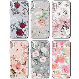 Matt Finish Flower Phone Case Cover for Apple iPhone 11 iPhone 12 iPhone 7/8
