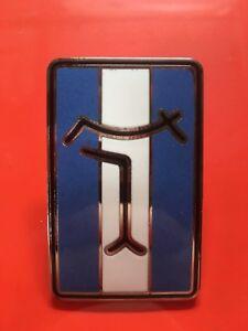 De Tomaso Pantera Front Nose Badge Blue & White