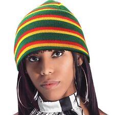 Root Rastafari Tam Beanie Rasta Dancehall Africa Jamaica Irie Reggae Marley S/M