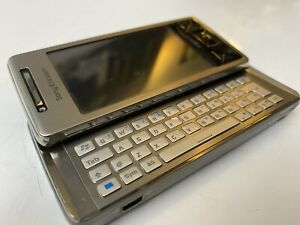 Sony Ericsson Xperia X1 X1 - Solid Silver Untested Smartphone With Manuals & CD