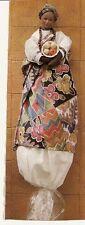 International Lady Bag Doll Suyali ( South Africa )  Grocery Bag Holder