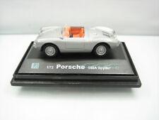 Hongwell Volkswagen Porsche 550A Spyder 1/72 Silver Grey Very Good on Display