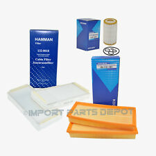 Engine Air Filter + Oil Filter + AC Cabin Filter Mercedes W210 W215 W220 Kit