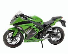 Automaxx 1:12 Kawasaki Ninja 250 Green Black Diecast Motorcycle