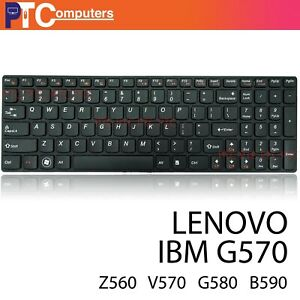 Laptop Keyboard for Lenovo IdeaPad G560 G560A G565 Z560 G570 series notebook