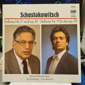 LP Schostakowitsch - Sinfonie Nr. 1 und Nr. 9 - ETERNA  DMM  7 29 221