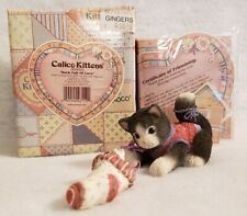 "Retired Calico Kittens #360090, ""Sock Full of Love"", Mib"