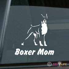 Boxer Mom Sticker Die Cut Vinyl - v2