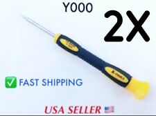 2 Pack iPhone 7 Plus Screwdrivers Y000 0.6mm Triwing Tripoint Screwdriver... New