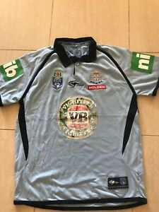 blues state of origin men's Classic Jersey, Large, WITH DEFECTS