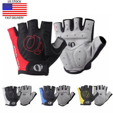 Mens Cycling Gloves MTB Bike Bicycle Anti Slip Shock Half Finger Sports Gloves