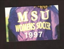 Mankato State Mavericks--1997 Soccer Pocket Schedule--Soccer Avenue