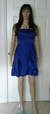 Coast evening/party/ cocktail dress Size 10 beautiful electric blue strapless