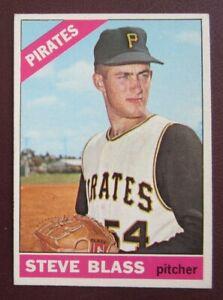 1966 Topps Steve Blass (Pittsburgh Pirates) #344 EX/NRMT
