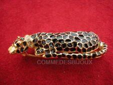 """Broche """"Léopard"""" N° 4 dorée Afrique Savane Safari - Bijoux Bestaire Cadeau"""