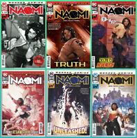 NAOMI #1 2 3 4 5 6 SET (1st / 2nd / 3rd PRINT) 1st APPEARANCE DC 2019 NM- NM
