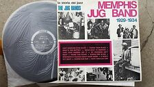BLUES LP: MEMPHIS JUG BAND 1929-1934 la storia del jazz JOKER Memphis Minnie