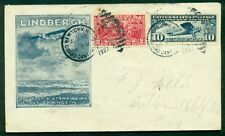 UNITED STATES 1927 Aborted Flight to S.S.Leviathan w/neat Roessler Lindberg cach
