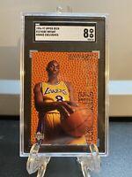 1996-97 Upper Deck Kobe Bryant Rookie Exclusives #R10 PSA SGC 8 NmMt🔥🔥