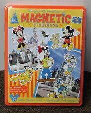 DISNEY MAGNETIC STORYBOOK Disneyland World Theme Park Collectible Souvenir  NEW
