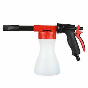 Garden Watering Foam Spray Gun Car Wash Sprayer Garden Water Guns Hose Nozzle