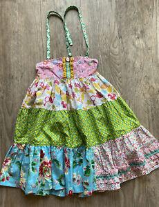 Matilda Jane Platinum Dearest Ella Ellie Dress Size 6