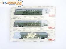 E24L236 Piko H0 58029 53105 3x Doppelstockwagen Steuerwagen DR NEM *TOP*