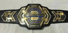 TNA Grand Impact World Heavyweight Championship Wrestling Title Belt Adult Size