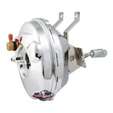 "Tuff Stuff Power Brake Booster 2230NA; 9"" Chrome Steel Single Diaphragm"