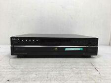 New listing Sony Scd-Ce595 Super Audio Cd Multi-Channel Direct Stream Digital 5-Disc Changer