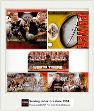 2005 Select NRL Tiger Premiership 3 card Mini set+ Playmakers+Predictor(5)