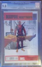 DEADPOOL MERC WITH A MOUTH #9 CGC 9.8 PERFECT SLAB GREAT LOOKING