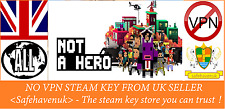 NOT A HERO Steam key NO VPN Region Free UK Seller