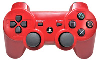 Genuine Sony Red Playstation 3 PS3 Controller DualShock3