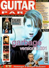 "GUITAR PART #92 ""Garbage,Nirvana,Eels,Therapy,Bush"" (REVUE)"