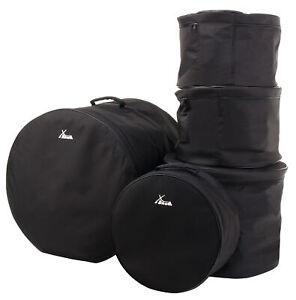 5x Set Borsa per Kit Batteria Custodia Gigbag  Percussione Tomtoms Timpano