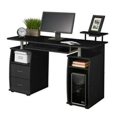 Computer Desk PC Laptop Table WorkStation Home Office Furniture w/ Printer Shelf