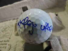 Mariajo Uribe Game Used Golf Ball Signed / Autographed Inperson Card Lpga
