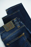 RRP $145 NUDIE GRIM TIM CROSSHATCH WORN IN Men's W32/L32 Stretch Jeans 3241_mm