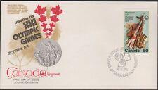 Canada- OLYMPICS 686 Arts & Culture FDC 1976 Fleetwood