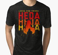 Heda Leksa Kom Trikru Men Black Tshirt Size S-2Xl